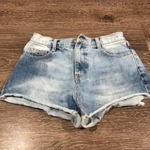 Zara TRF Denim Collection | Cut Off Shorts